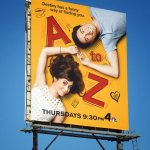 A to Z poster on LA billboard
