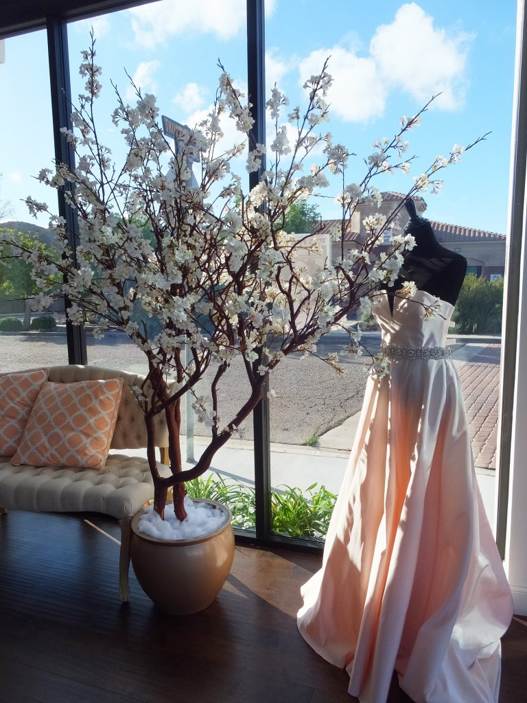 7 foot white Cherry Blossom tree