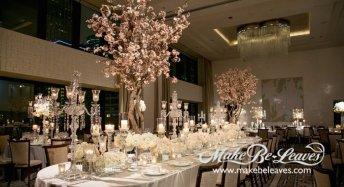 makebeleaves cherry tree wedding