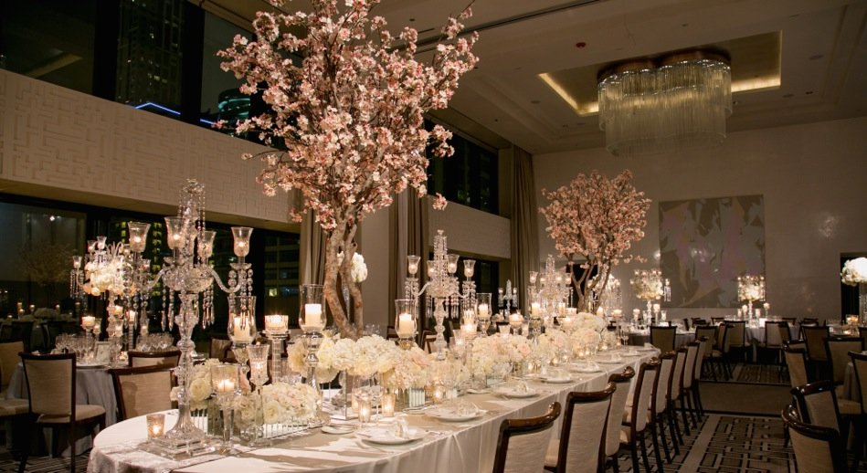 From Weddings To Chinese New Year: Faux Cherry Blossom Trees 'Bloom' In Popularity