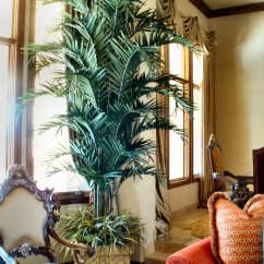 Artificial Trees For Living Room Decor Accessories Large Life Like Specimen Make Be Leaves Faux Kentia Palm