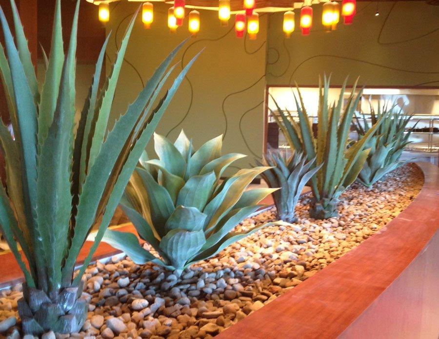Twin Arrows casino AZ faux cactus