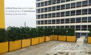 commercial artificial plants
