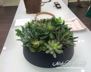 makebe leaves faux succulents saks
