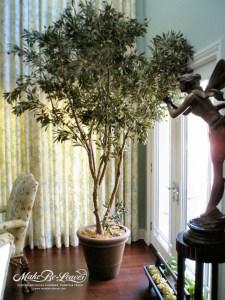 8ft Artificial Mediterranean Olive Tree