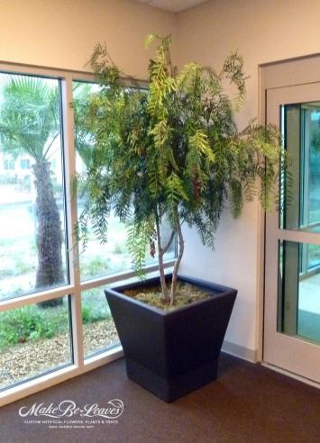 8ft Artificial Pepper Tree