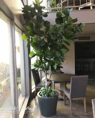 9ft Artificial Fiddle Leaf Tree