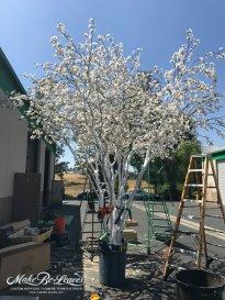 silk cherry blossom trees