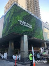 artificial green wall Outrigger Hotel
