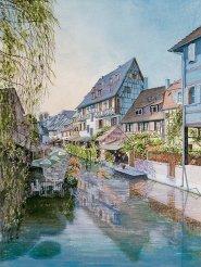 Ameche Canal scene Colmar