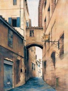Ameche Street Scene Siena