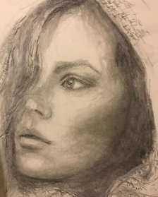 portrait drawing by Susie Ameche #10