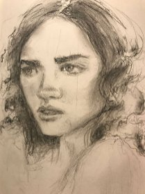 portrait drawing by Susie Ameche #13