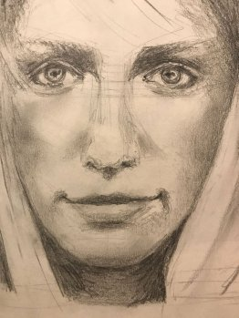 portrait drawing by Susie Ameche #14
