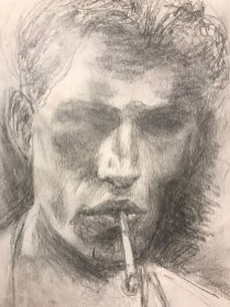 portrait drawing by Susie Ameche #05
