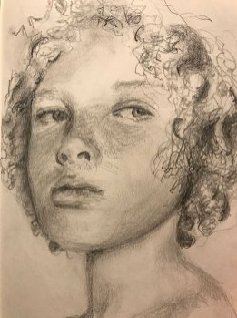 portrait drawing by Susie Ameche #06