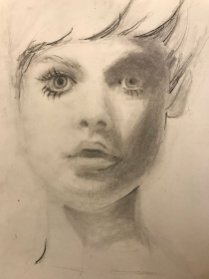 portrait drawing by Susie Ameche #08