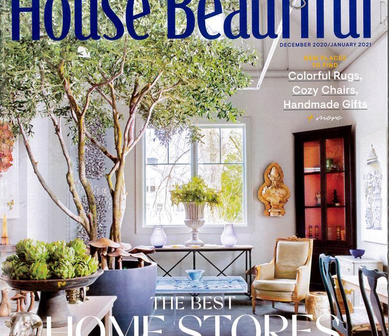 Featured on the cover of House Beautiful!