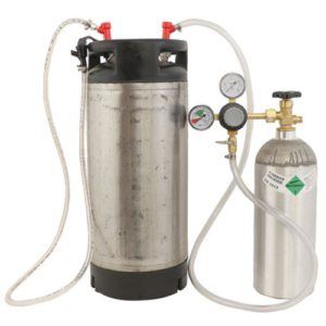 homebrew kegging equipment keg and co2 tank