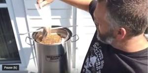 Adding grains all grain beer