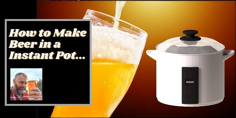 Instructions for how to make beer in an instant pot