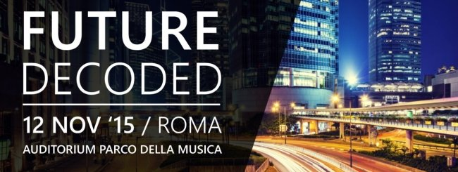 Microsoft Future Decoded 2015 roma
