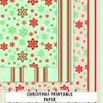 Festive Digital Paper Download