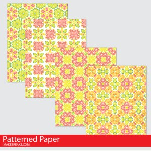 Citrus Digital Paper Download