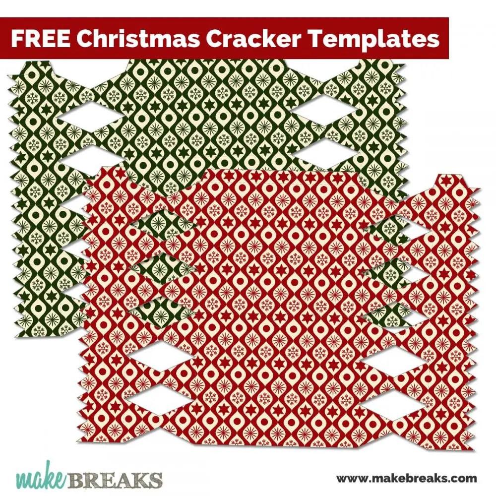 Christmas Crackers #1 Free Printable