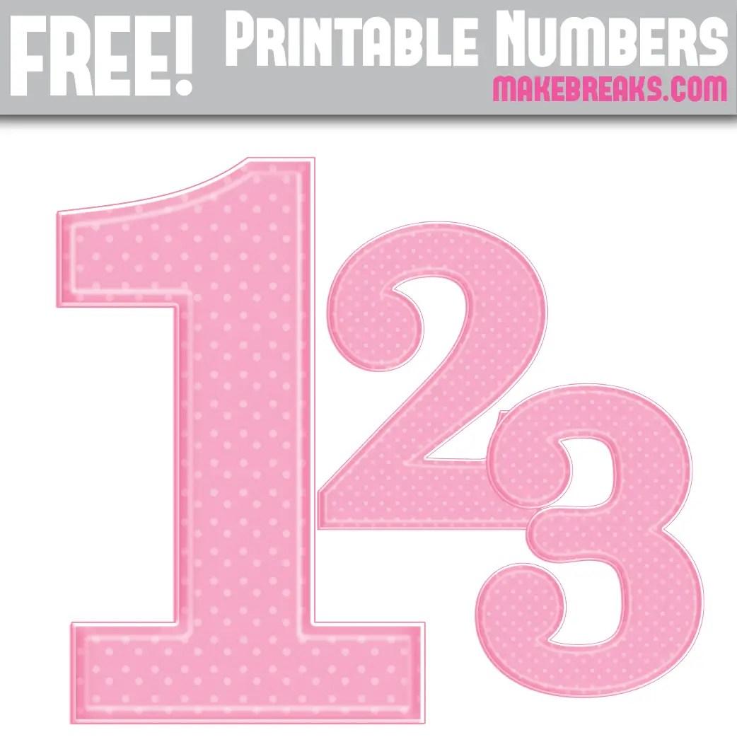 graphic regarding Free Printable Numbers called Cost-free Purple Polka Dot Printable Figures 0 - 9 - Create Breaks