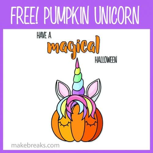 Magical Pumpkin Halloween Poster