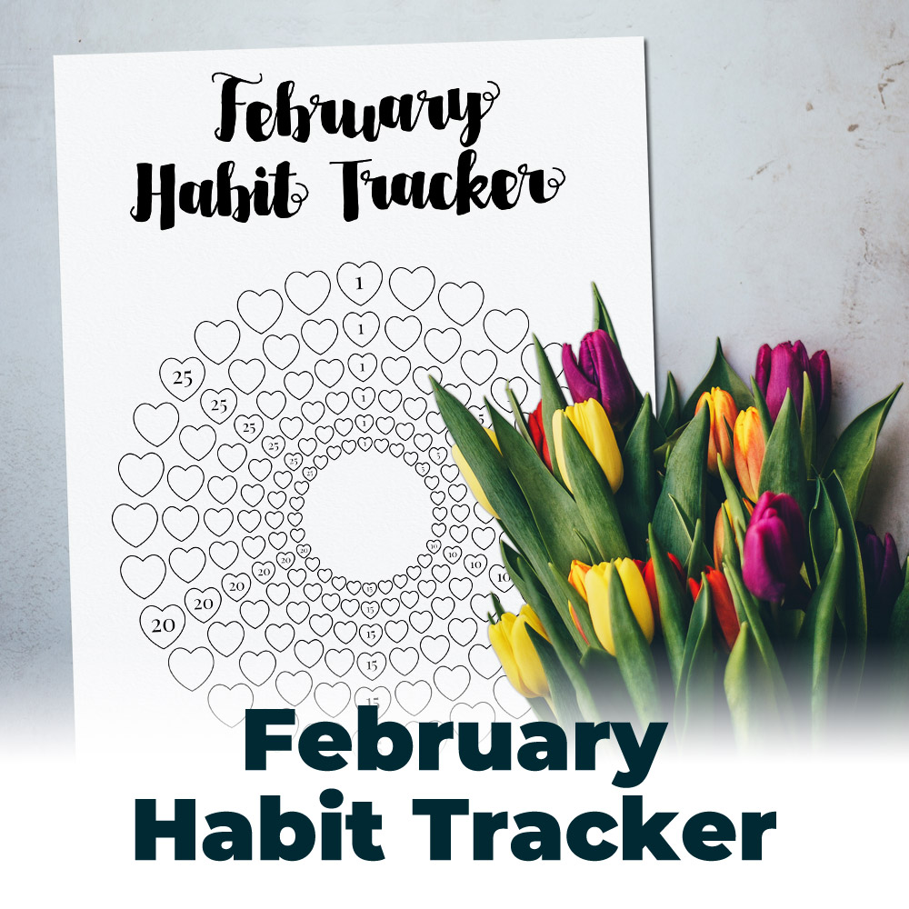 Free February Habit Tracker 2