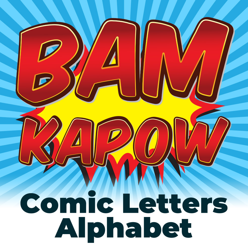 Free Comic Book Style Letters