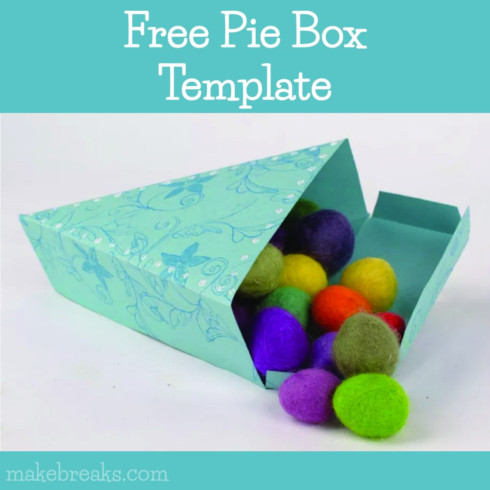 Free Pie Box Template – DIY Gift Packaging