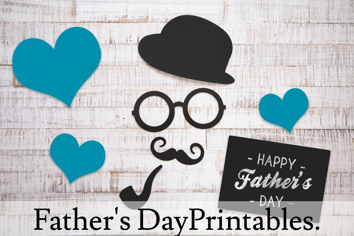 New Free Printables For Father's Day and Summer!