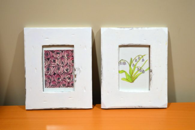 Vintage distressed picture frames: pretend you found them in an old ...