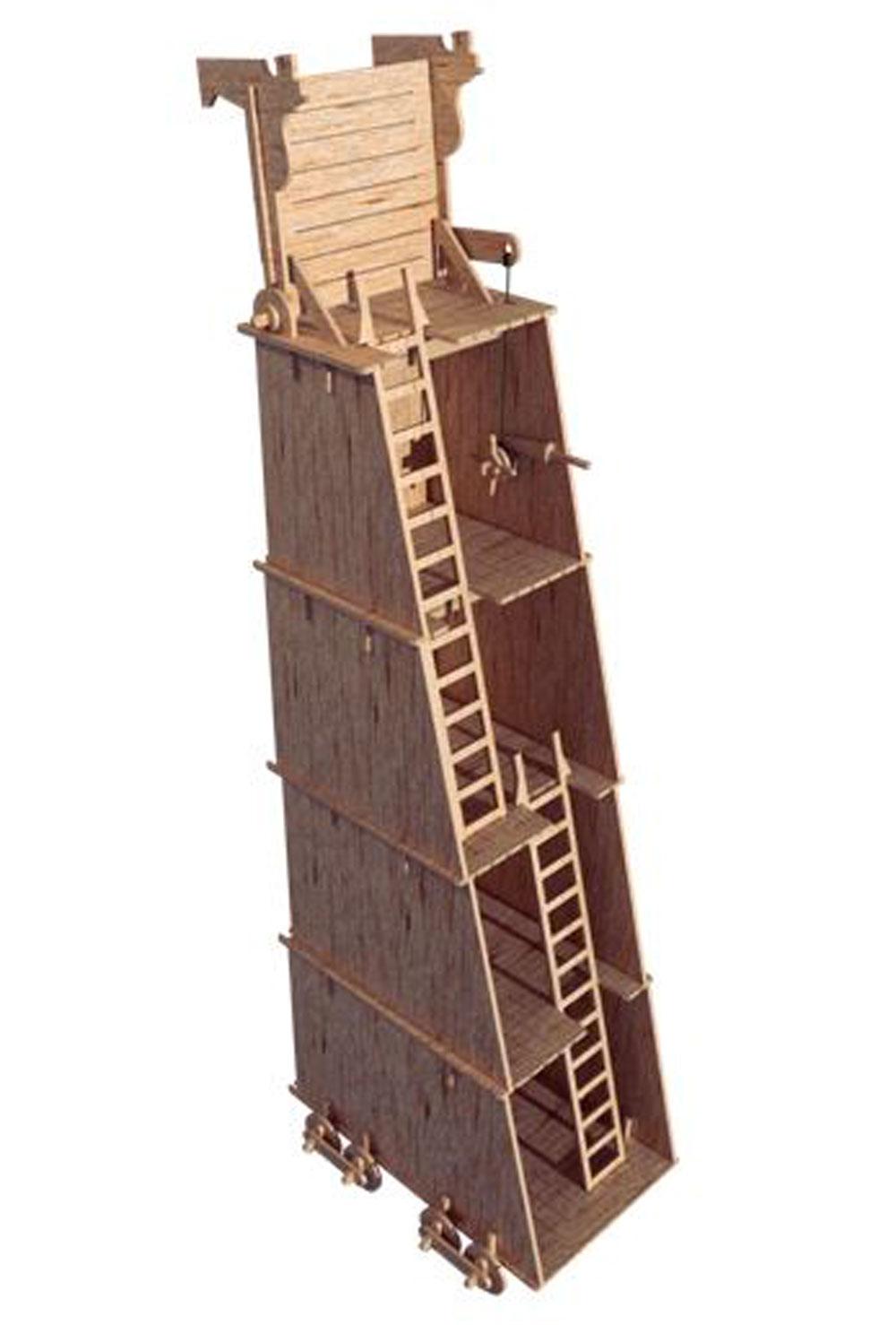 Siege Ladder : siege, ladder, Endwood, Castle, Siege, Tower, Weapon, Castles, MakeCNC.com