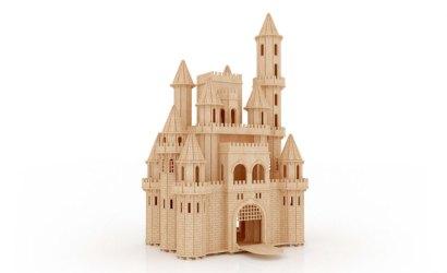 The Fantasy Castle Castles MakeCNC com