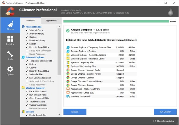CCleaner 5.77 Crack & Activation Code Full Free Download