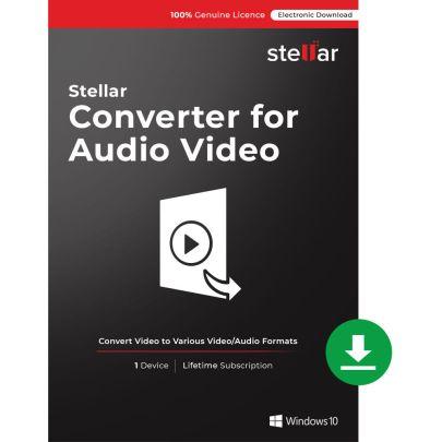Stellar Converter for Audio Video Crack 3.0.0.0 Full Download[Latest]