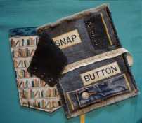 """Lined this pocket with sateen. Loved the hidden """"snap""""."""