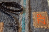 Another detail shot. The decorative stitches on my machine are great.