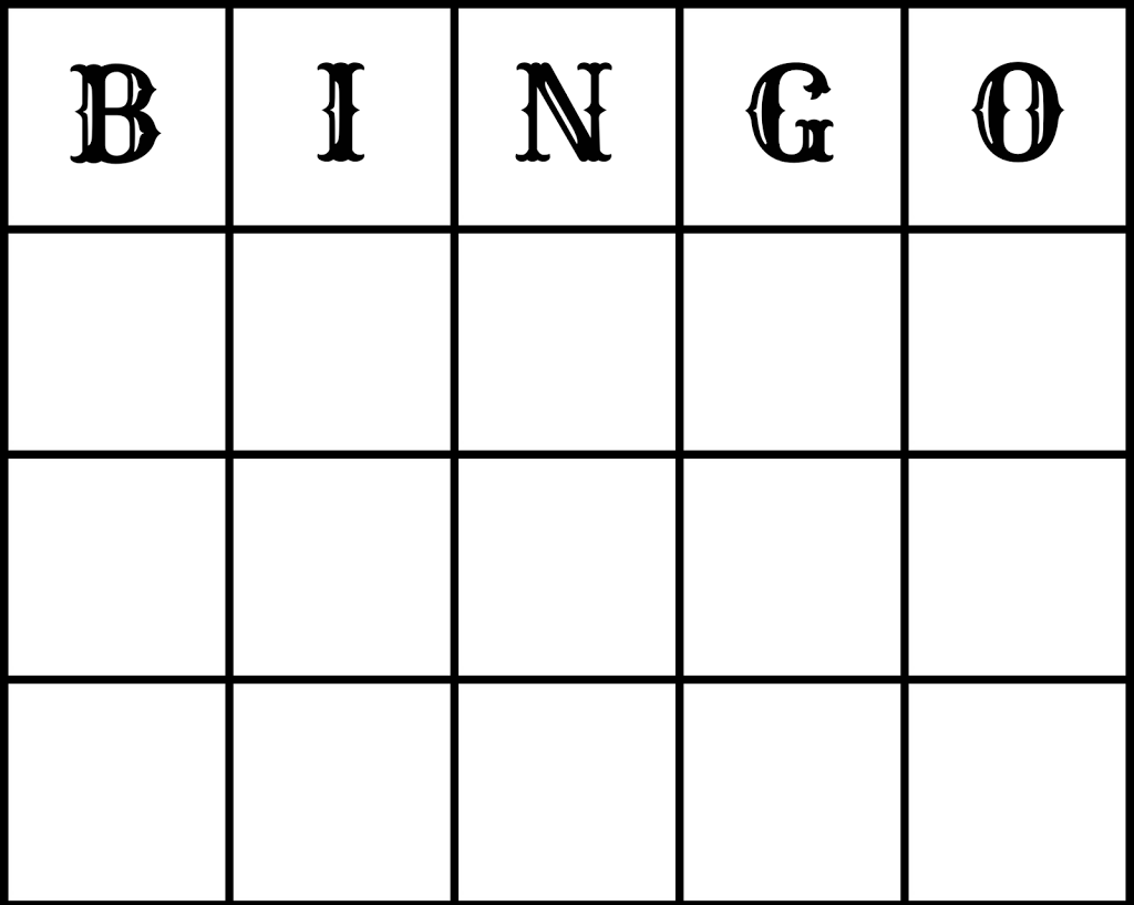 Make Free Wedding Bingo Printout And Epson Xp212