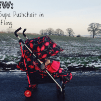 Review // Cosatto Supa Pushchair in Flamingo Fling