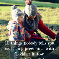 Pregnancy // 10 things nobody tells you about being Pregnant... with a Toddler in tow (First Trimester)