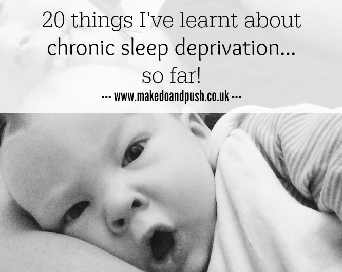 chronic sleep deprivation