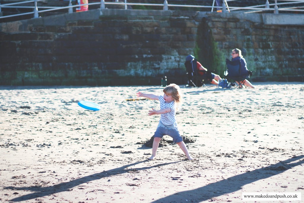 Whitby with children