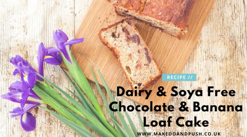 Dairy and Soya Free Chocolate and Banana Loaf