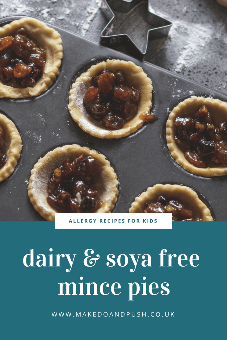 dairy and soya free mince pies