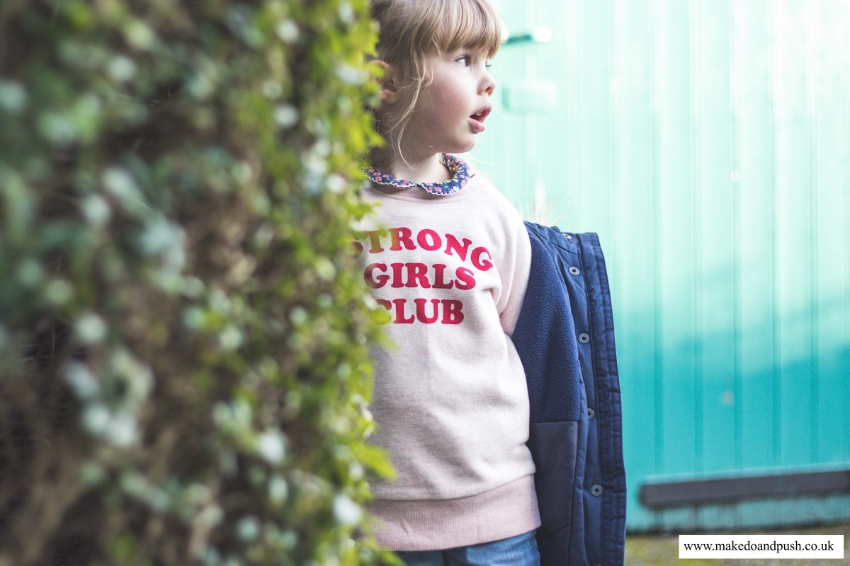 What Busby Wore // Mutha.Hood Strong Girls Club Sweater